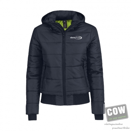 0cd6e81ccb6 B&C Superhood Jacket dames jack