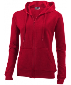 Utah full-zip dames sweater met capuchon bedrukken