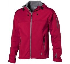 Match heren softshell jack bedrukken