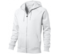 Race full-zip sweater met capuchon bedrukken