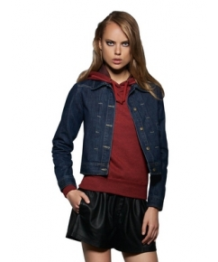 Ladies Denim Trucker Jacket bedrukken