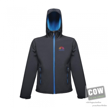 Afbeelding van relatiegeschenk:Regatta StandOut Arley II Hooded Softshell Jacket heren